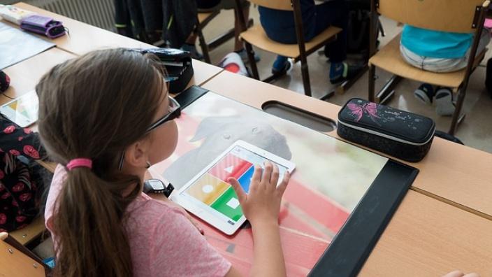 Schriftliche Anfrage: Voraussetzungen des digitalen Schulunterrichts in Berlin